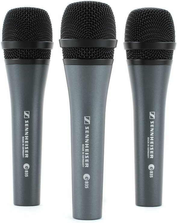View larger image of Sennheiser e835 Live Vocal Microphone - 3 Pack