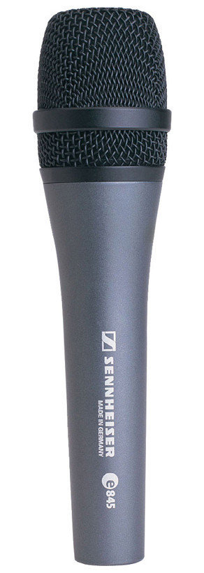View larger image of Sennheiser e845 Dynamic Super-Cardioid Vocal Microphone