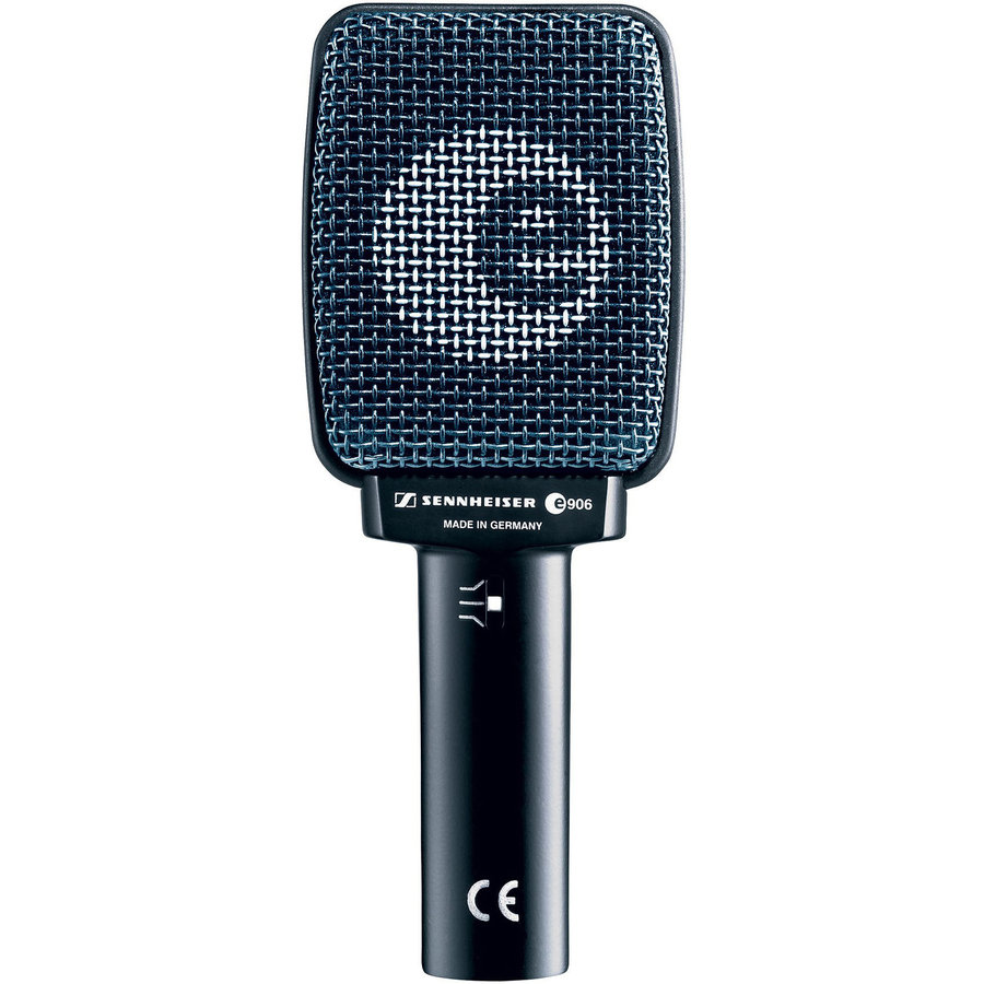 View larger image of Sennheiser e906 Super-Cardioid Dynamic Instrument Microphone