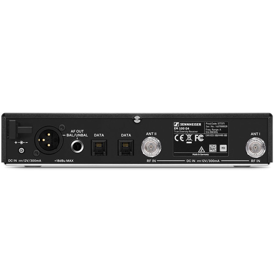 View larger image of Sennheiser EM 100 G4 Wireless Racmount Receiver - G Band