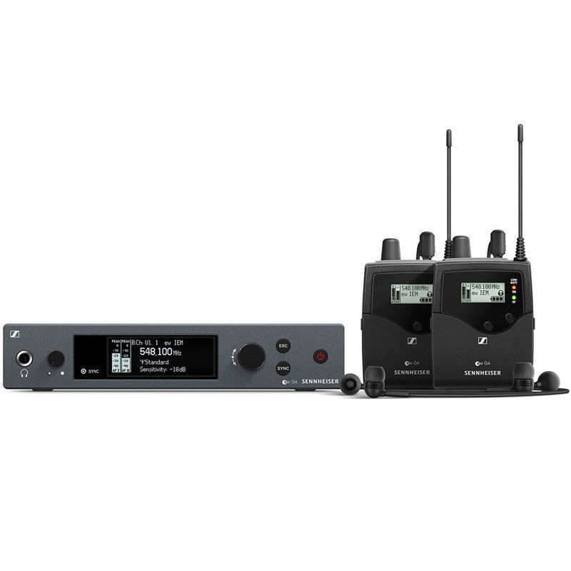 View larger image of Sennheiser ew G4 Twin Wireless In-Ear Monitoring System - A Band