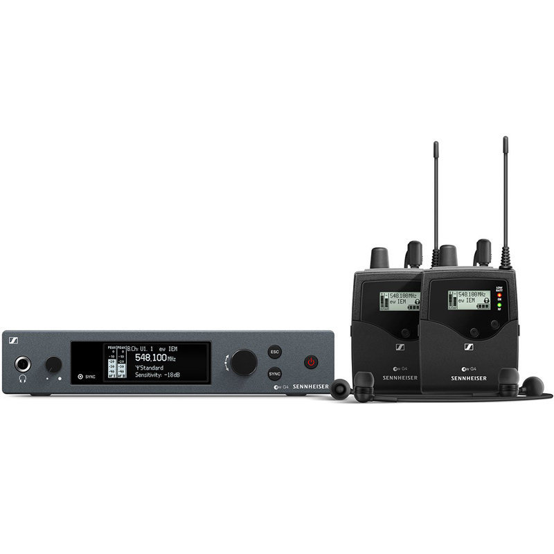 View larger image of Sennheiser ew G4 Twin Wireless In-Ear Monitoring System - A1 Band