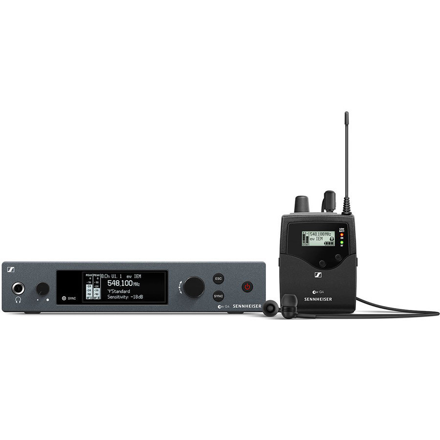 View larger image of Sennheiser ew IEM G4 Wireless In-Ear Monitoring System - G Band