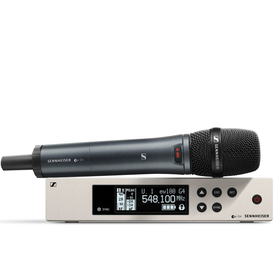 View larger image of Sennheiser ew100 G4-845-S Wireless Handheld Microphone System - G Band