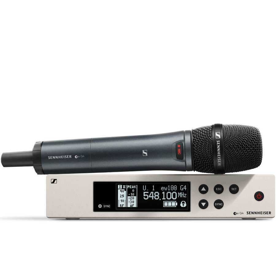 View larger image of Sennheiser ew100 G4-865-S Wireless Handheld Microphone System - A Band