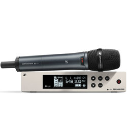 Sennheiser ew100 G4-865-S Wireless Handheld Microphone System - A1 Band