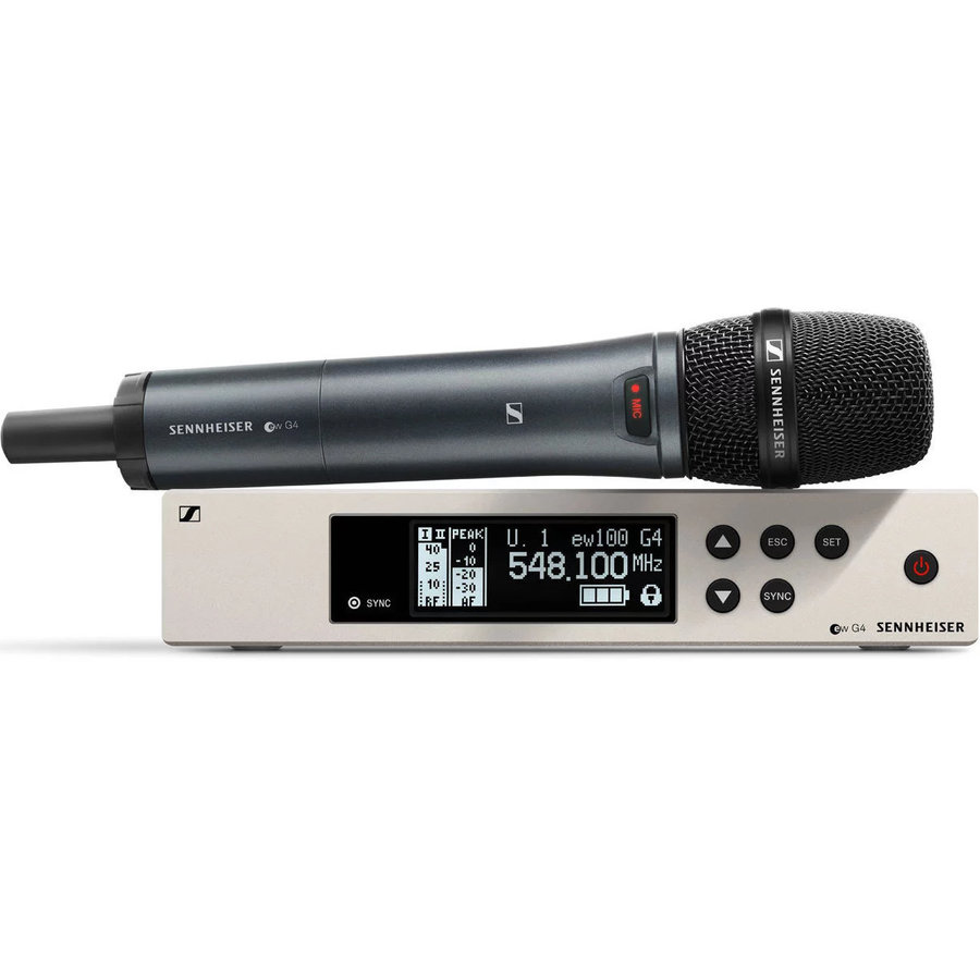 View larger image of Sennheiser ew100 G4-935-S Wireless Handheld Microphone System - A1 Band