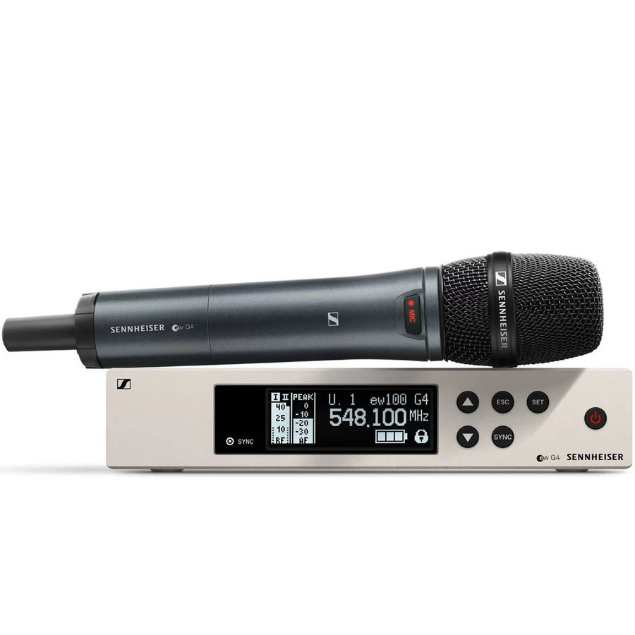 View larger image of Sennheiser ew100 G4-945-S Wireless Handheld Microphone System - A1 Band