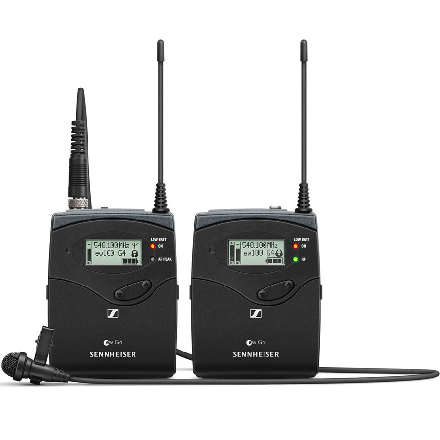 View larger image of Sennheiser ew112P G4 Portable Wireless Lavalier Microphone System - A1 Band
