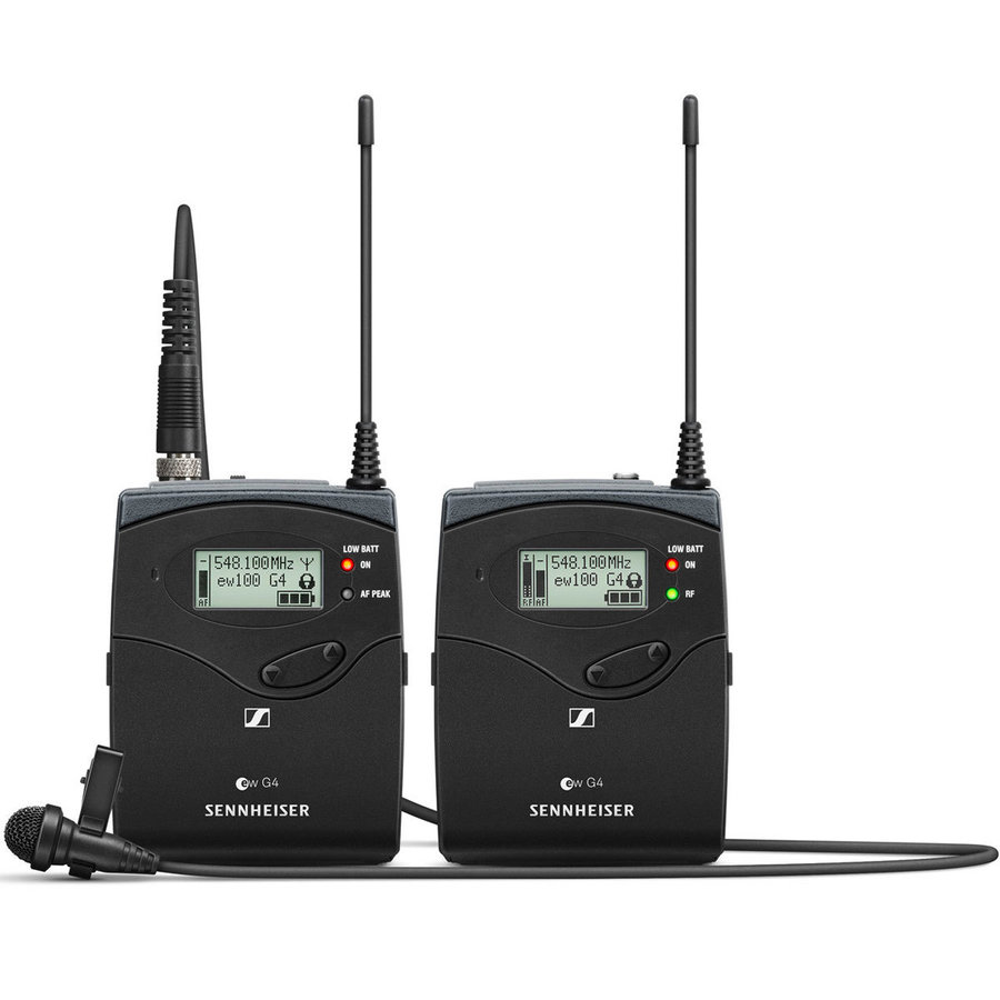 View larger image of Sennheiser ew112P G4 Portable Wireless Lavalier Microphone System - G Band