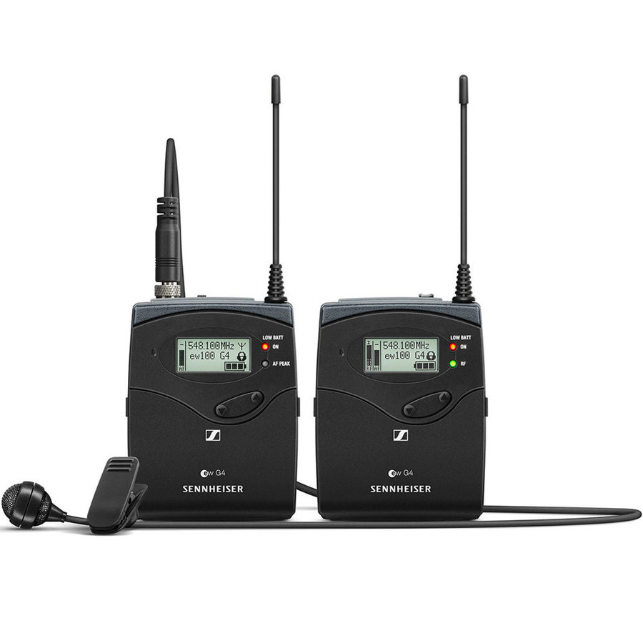 View larger image of Sennheiser ew122P G4 Portable Wireless Lavalier Microphone System - A1 Band