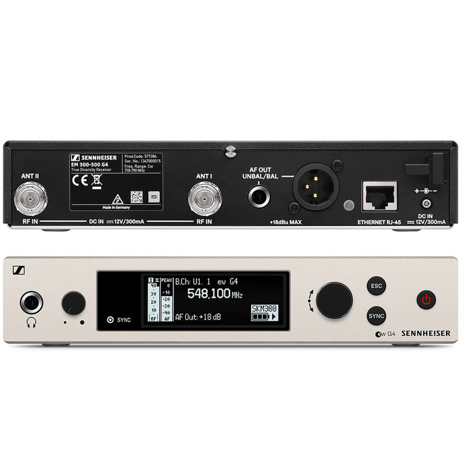 View larger image of Sennheiser ew300 G4-865-S Wireless Handheld Microphone System - GW1 Band