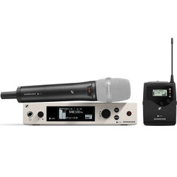 Sennheiser ew300 G4-Base Combo Wireless Microphone System - AW+ Band