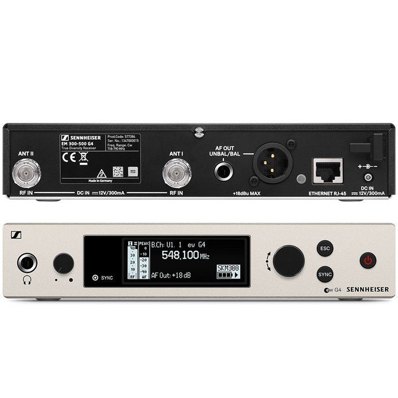 View larger image of Sennheiser ew300 G4-Base Combo Wireless Microphone System - GW1 Band
