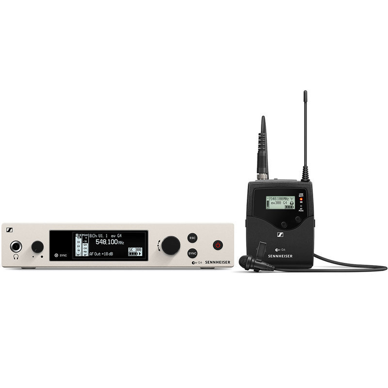 View larger image of Sennheiser ew300 G4-MEC-RX Wireless Lavalier Microphone System - AW+ Band