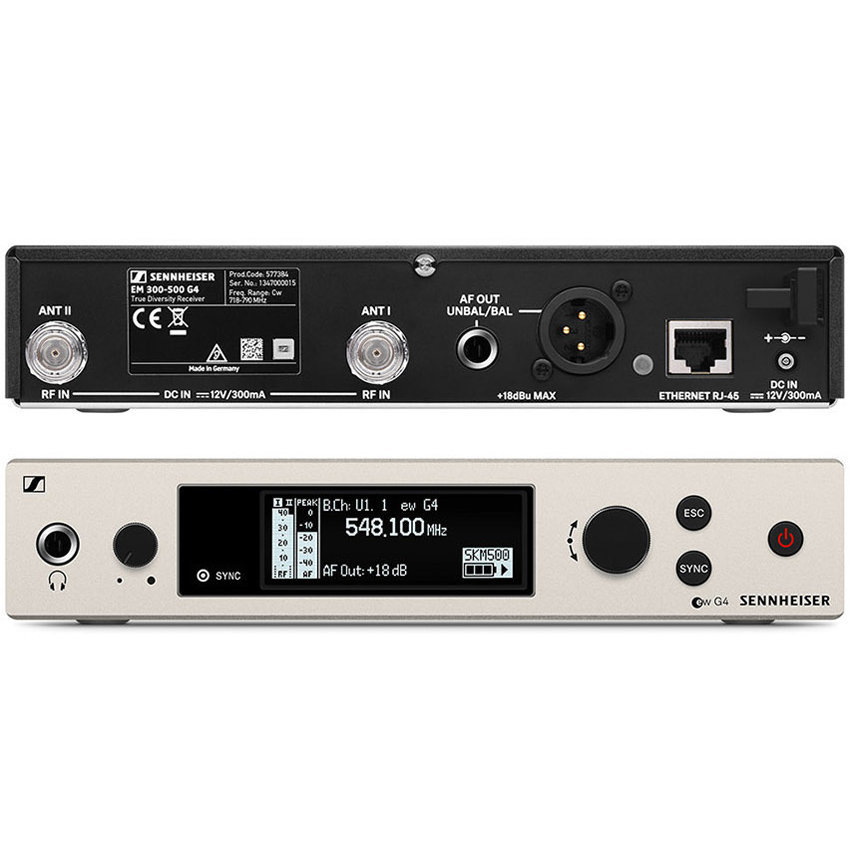 View larger image of Sennheiser ew500 G4-935 Wireless Handheld Microphone System - AW+ Band