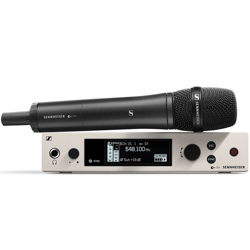 View larger image of Sennheiser ew500 G4-965 Wireless Handheld Microphone System - AW+ Band