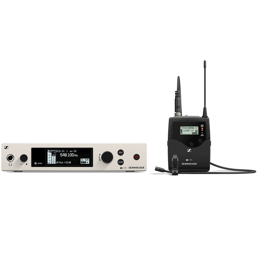View larger image of Sennheiser ew500 G4-MKE2 Wireless Lavalier Microphone System - AW+ Band