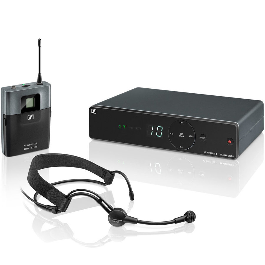 View larger image of Sennheiser XSW1-ME3 Wireless Headset Microphone System - A Band