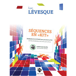 Sequences En Kit Vol.1 - Materiel Reproductible (Levesque) - Guitar Ensemble