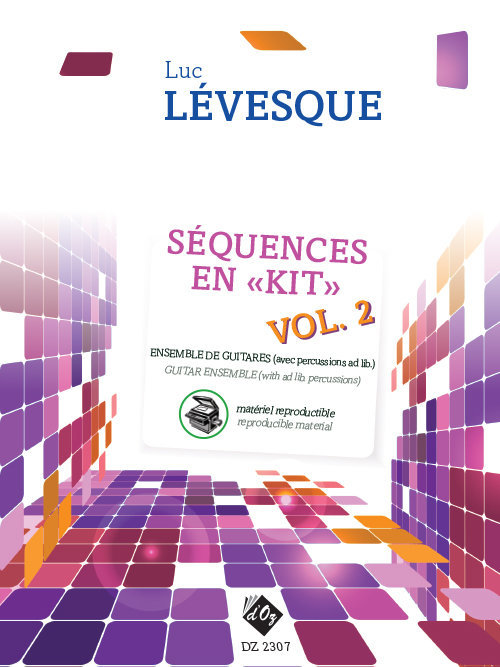 View larger image of Sequences En Kit Vol.2 - Materiel Reproductible (Levesque) - Guitar Ensemble