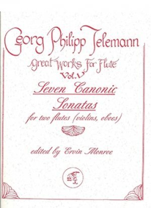 View larger image of Seven Canonic Sonatas for Two Flutes - Telemann