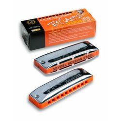 Seydel Diatonic Blues Session Steel Harmonica - D