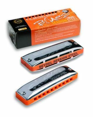 View larger image of Seydel Diatonic Blues Session Steel Harmonica - F