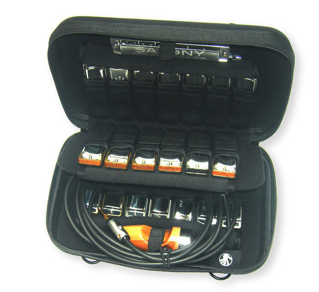 View larger image of Seydel - Hardcover Case for 20 Harmonicas with Shoulder Strap