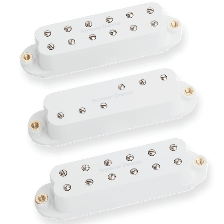 View larger image of Seymour Duncan Everything Axe Electric Guitar Pick Up Set - White