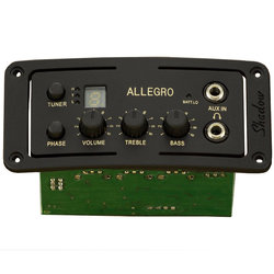 Shadow SH-ALLEGRO Acoustic Preamp - Aux In / HP Out
