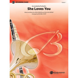 She Loves You (The Beatles) - Score & Parts, Grade 1