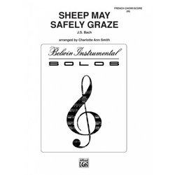 Sheep May Safely Graze - (Flute Choir)