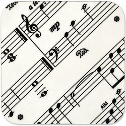 Sheet Music Coaster