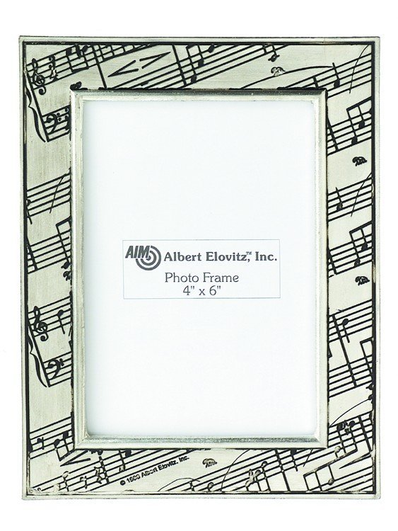 View larger image of Sheet Music Picture Frame - Pewter