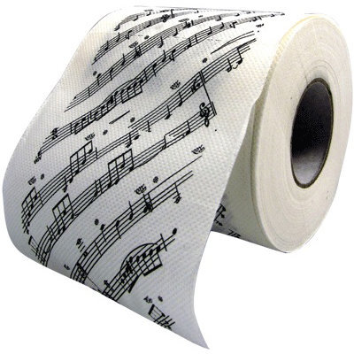 View larger image of Sheet Music Toilet Paper