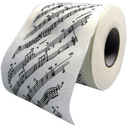 Sheet Music Toilet Paper