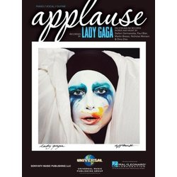 Applause - Lady Gaga - Piano/Vocal/Guitar Sheet Music