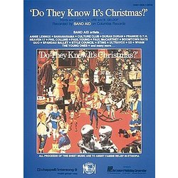 Do They Know Its Christmas - Band Aid - Piano/Vocal/Guitar Sheet Music