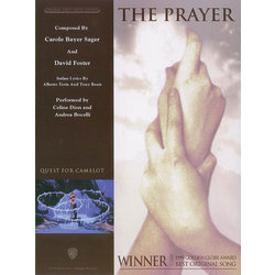 SheetMusic Prayer, The - Celine Dion & Andrea Bocelli