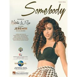Somebody - Natalie La Rose - Piano/Vocal/Guitar Sheet Music