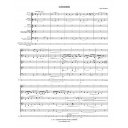 Shimmer - Score Only (Woowind Ensemble)