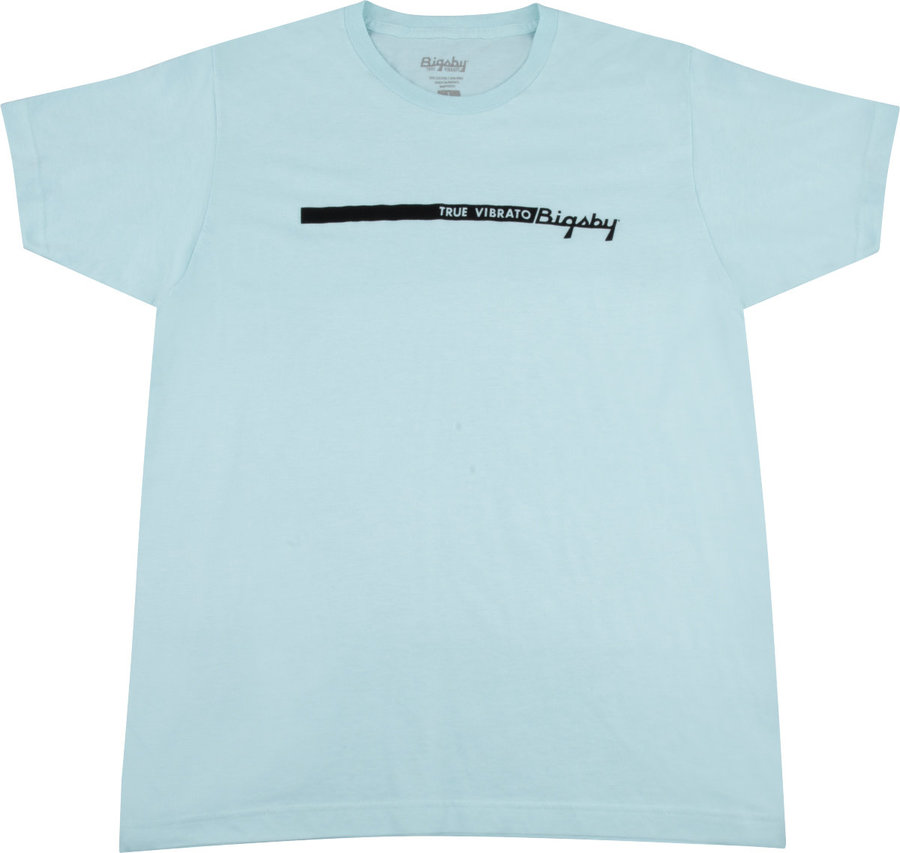 View larger image of Fender Bigsby True Vibrato Stripe T-Shirt - Blue, Large