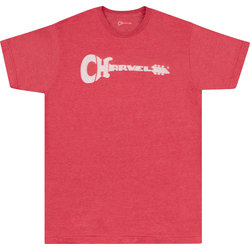 Charvel Guitar Logo T-Shirt - Heather Red, Small