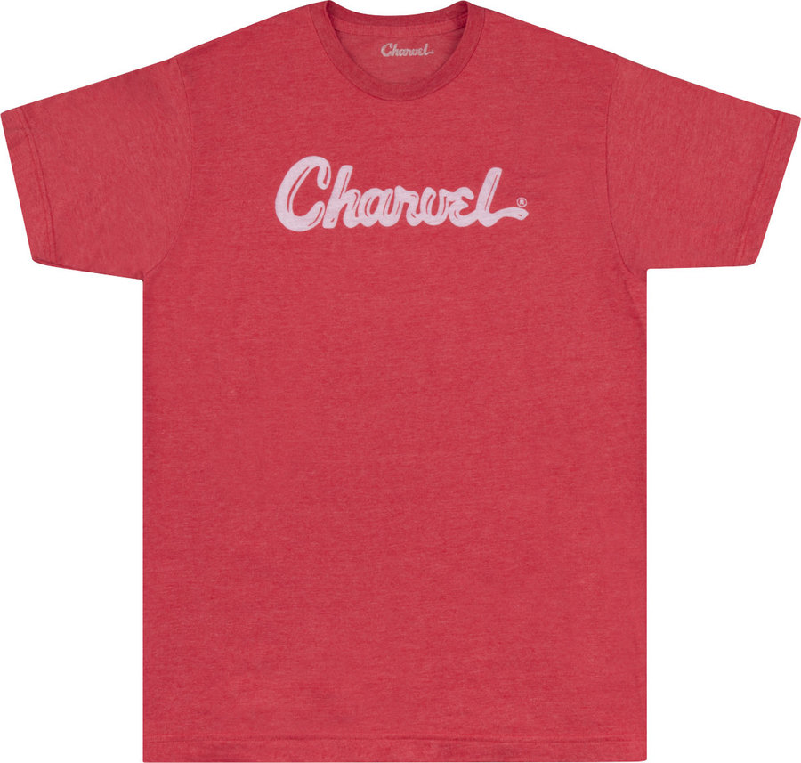 View larger image of Charvel Toothpaste Logo T-Shirt - Heather Red, XL