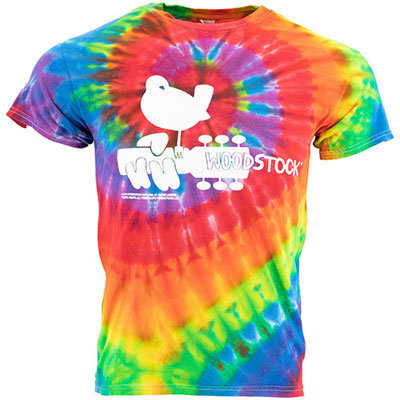 View larger image of Martin Woodstock T-Shirt - Tie Dye, XXL