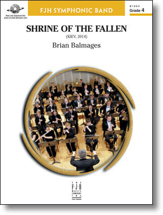 View larger image of Shrine of The Fallen - Score & Parts, Grade 4