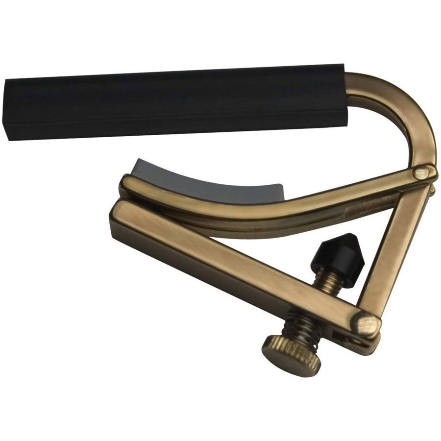 View larger image of Shubb C4 Electric Guitar Capo - Brass