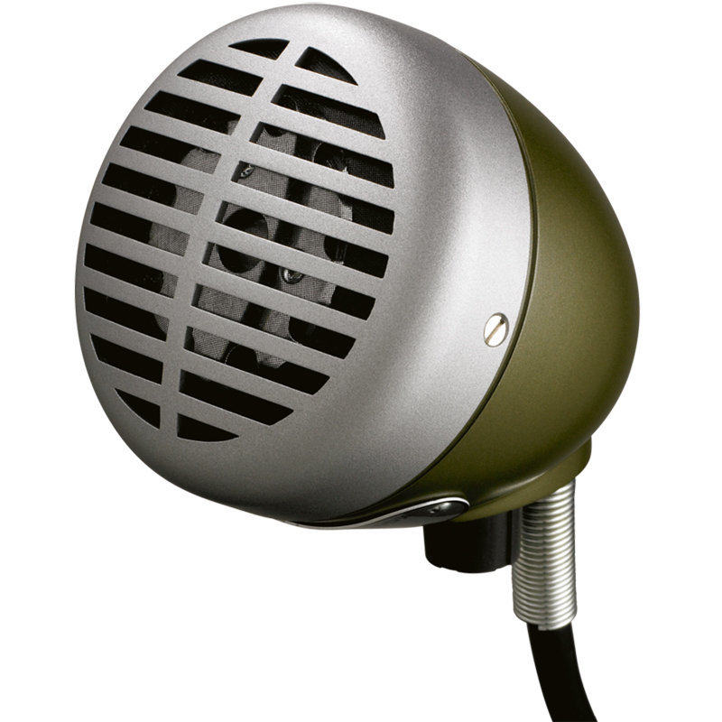 View larger image of Shure 520DX Green Bullet Harmonica Microphone
