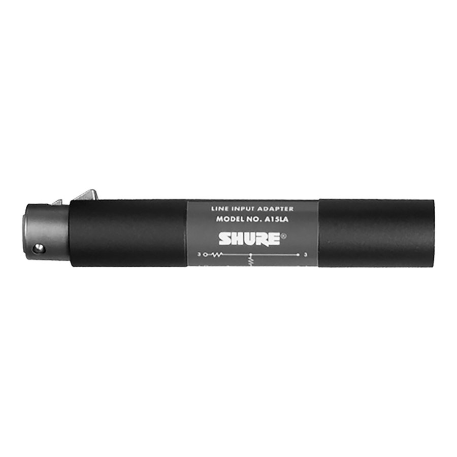 View larger image of Shure A15LA 50 dB Attenuator